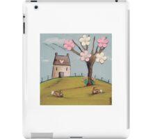 Spring Rabbits iPad Case/Skin