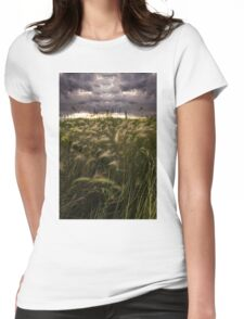 Prairie Grasses Northeastern Colorado Womens Fitted T-Shirt