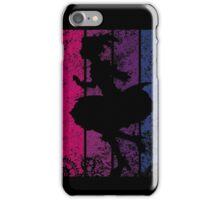 Puella Magi Madoka Magica - Madoka Nakama Silhouette (Rust) iPhone Case/Skin