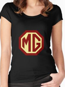 Classic Cars Logo - MG Women's Fitted Scoop T-Shirt