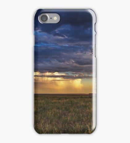 Windmill Eastern Colorado #2 iPhone Case/Skin