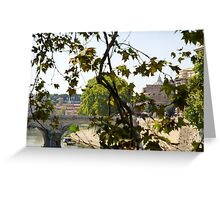 Rome - Mausoleum of Hadrian Greeting Card