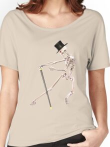 DANCING SKELETON Women's Relaxed Fit T-Shirt