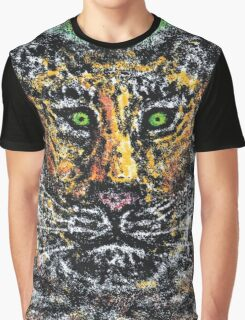 1401 - In the Eyes of the Tiger Graphic T-Shirt