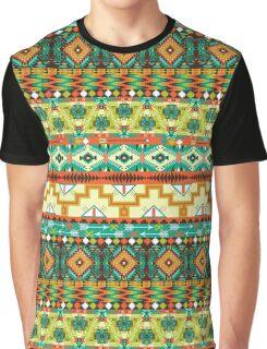 Aztec geometric seamless pattern Graphic T-Shirt