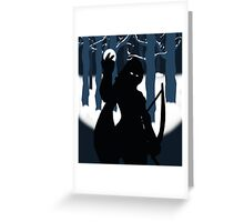 The Winter Queen Greeting Card