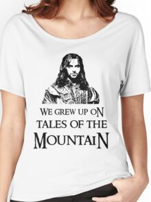 """We Grew Up On Tales Of The Mountain."" Women's Relaxed Fit T-Shirt"