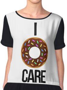 I 'donut' care Chiffon Top