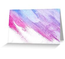 Water Color Sticker and Card Greeting Card