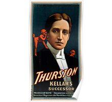 Thurston - Kellars successor 3 - Strobridge - 1908 Poster