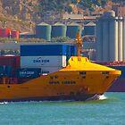 yellow ship by terezadelpilar ~ art & architecture