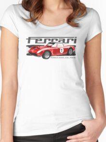 NEW Men's Racing Car T-Shirt Women's Fitted Scoop T-Shirt