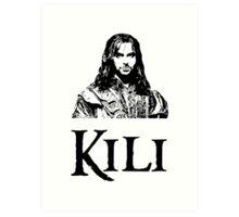 Kili Portrait Art Print