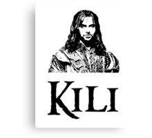 Kili Portrait Canvas Print