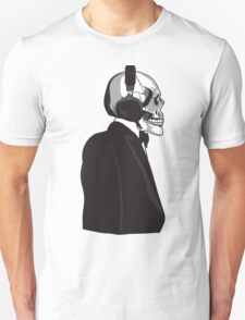 Skull and Suit Unisex T-Shirt