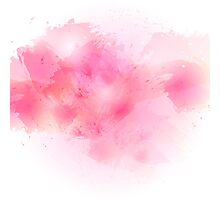 Watercolor pattern Photographic Print