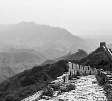 The Long and Winding Wall, Beijing, China by Cherrybom