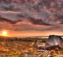 Arthur's stone Gower Swansea by leightoncollins