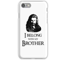 """""""I Belong With My Brother."""" iPhone Case/Skin"""