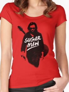 Sixto Rodriguez | Sugar Man Women's Fitted Scoop T-Shirt