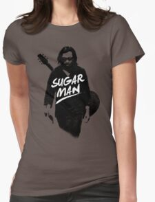 Sixto Rodriguez   Sugar Man Womens Fitted T-Shirt