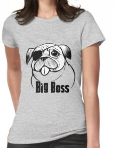 dog Womens Fitted T-Shirt