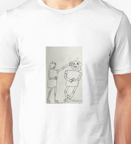 Boxing robots  Unisex T-Shirt