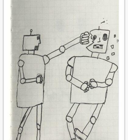 Boxing robots  Sticker