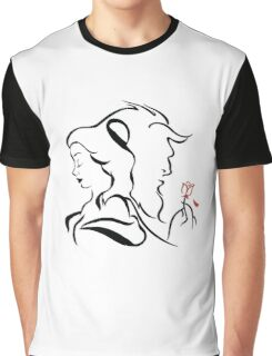 Beauty and the beast  logo Graphic T-Shirt