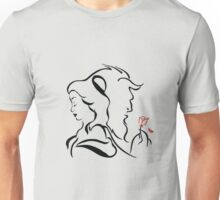 Beauty and the beast  logo Unisex T-Shirt
