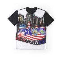 nypd,fdny,emt,papa,9 11,never forget ,hero,usa, Graphic T-Shirt