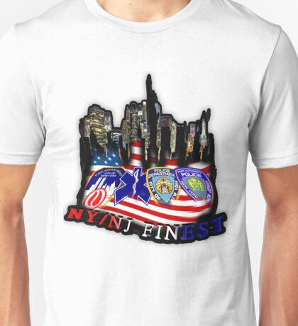 nypd,fdny,emt,papa,9 11,never forget ,hero,usa, Unisex T-Shirt