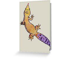 Leopard Gecko Greeting Card