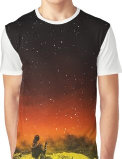 Burning Hill Graphic T-Shirt
