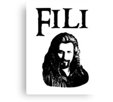 Fili Portrait Canvas Print