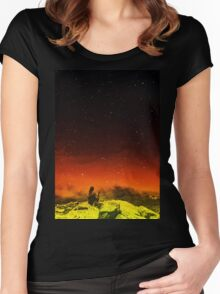 Burning Hill Women's Fitted Scoop T-Shirt