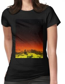 Burning Hill Womens Fitted T-Shirt