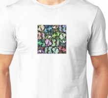 Forest Photo Grid Pattern Unisex T-Shirt