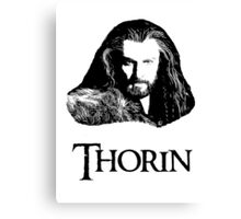 Thorin Oakenshield Portrait Canvas Print