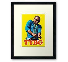 Lil Thank You Based God Framed Print