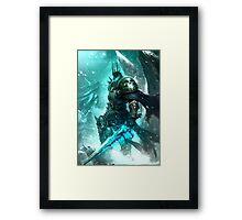 Arthas, the Lich King Framed Print