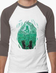 Gravity Falls - Face your Villains Men's Baseball ¾ T-Shirt