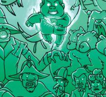 Gravity Falls - Face your Villains Sticker