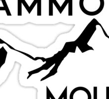 MAMMOTH MOUNTAIN CALIFORNIA SKIING SKI SNOWBOARDING HIKING CLIMBING 9 Sticker