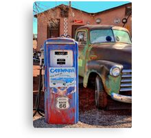 Rustic Route 66 Canvas Print