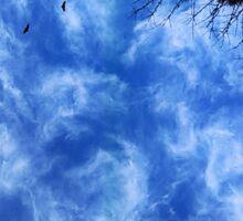 swirly sky (??) Sticker