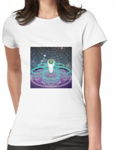 COSMIC PROJECTION Womens Fitted T-Shirt