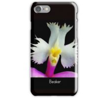 Beaker - Orchid Alien Discovery iPhone Case/Skin