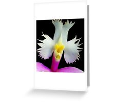 Beaker - Orchid Alien Discovery Greeting Card