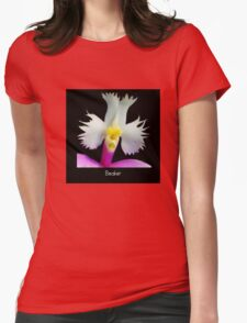 Beaker - Orchid Alien Discovery Womens Fitted T-Shirt